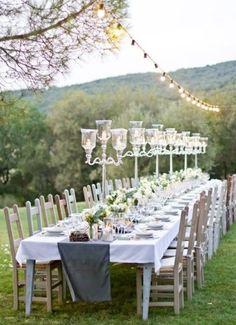 ROMANTIQUE WEDDING RECEPTION DECORATIONS | Outdoor Wedding Ceremony Decorations Archives | Weddings Romantique