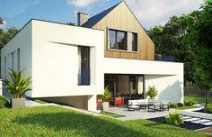 Projekt domu z poddaszem Zx145