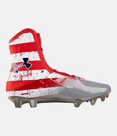 customize ua highlight football cleats