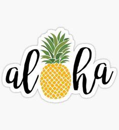 Pegatina Aloha