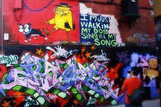 Free Graffiti Tour Queen St West