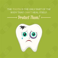 Dentaltown - The tooth is the only part of the body that can't heal itself. Please them with proper care so they can last a lifetime!