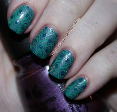 rebecca likes nails: are you brave enough to let me see your peacock?