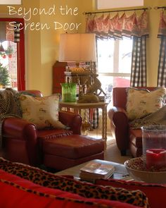 Christmas Home Tour – FAMILY ROOM | Beyond the Screen Door