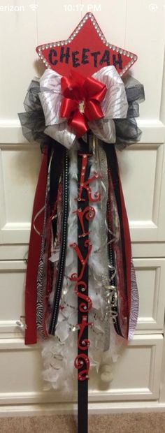 Cheer or Dance Spirit Stick by OliviasBoutique on Etsy