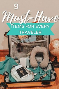 9 Must-Have Items for Every Traveler Travel Essentials For Women, Carry On Packing, Travel Checklist, Travel Items, Must Have Items, Must Haves, Budget, Money, Type