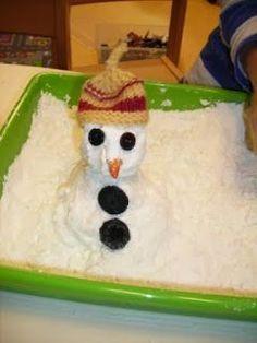 Schneeeeee - oder doch nicht? Naja, aber fast! Er knirscht zumindest so - wie echter Schnee. Dafür aber ist er nicht kalt! Aber er ...