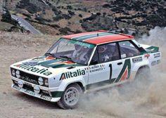 RALLY Acropolis 1978 Munari-Mannucci Fiat 131 Abarth