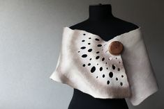 Felted Scarf Wrap | merino silk wood | Marina Shkolnik | Flickr