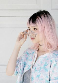 roots are cool #pink hair #pixiemarket