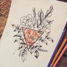 Caroline  #misssita #misssitatattoo #bouquet #botanical #flashtattoo #flowers #flashworkers #flashaddicted