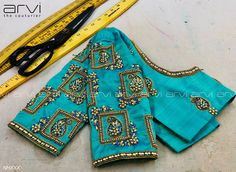Bridal blouse - All About Pattu Saree Blouse Designs, Designer Blouse Patterns, Bridal Blouse Designs, Saree Blouse Neck Designs, Blouse Back Neck Designs, Simple Blouse Designs, Stylish Blouse Design, Blouse Simple, Maggam Work Designs