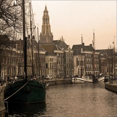 "Quay ""Hoge der A"" in Groningen by Foto Martien, via Flickr"
