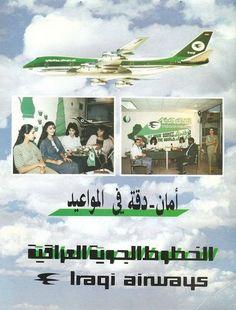 Iraqi Airways poster