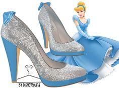 cinderella shoes | Disneybound