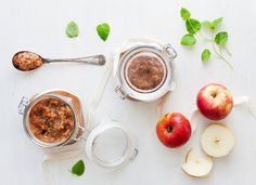 Apple, Ginger & Cardamom Compote by Green Kitchen Stories