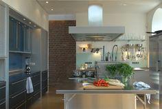 Küchenrückwand in satiniertem Glas