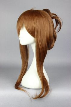 MCOSER Fashion style Kantai collection Hibiki (kancolle) Inazuma (kancolle) Anime Brown wig cosplay fashion lolita wig
