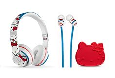 SoftBank has started selling American audio product brand, Beats Electronics and has announced the release of special Hello Kitty x Beats collaboration items:Beats by Dr.Dre Solo2 On-ear Headphone Hello Kitty Special Edition (¥26,400)Beats by Dr.Dre urBeats In-ear Headphone Hello Kitty Special Edition (¥14,800)In Japan, these items will be available only at SoftBank stores and Apple Stores.