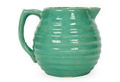 petite ceramic pitcher