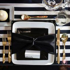 Black + White Modern Decor|April Foster Events|See more: http://www.weddingwire.com/biz/april-foster-events-indianapolis/portfolio/273a614374797572.html?page=2&subtab=album&albumId=ab7acbdd77eebf27#vendor-storefront-content // #table #decor