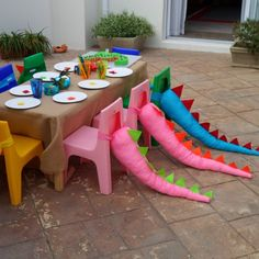 Dragon Birthday, Dragon Party, Dinosaur Birthday Party, 4th Birthday Parties, Birthday Fun, Birthday Ideas, Elmo Party, Mickey Party, Outdoor Birthday