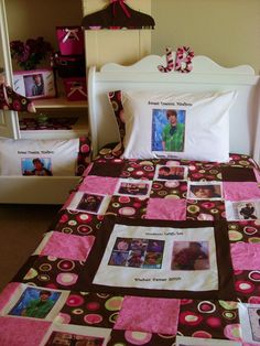 Cure the Fever: Justin Bieber Room Décor Justin Bieber Room, Morning Coffee, The Cure, Toddler Bed, Gift Wrapping, Quilts, Creative, Room Decorations, Furniture