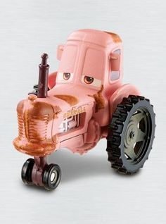 tractor - Pixar CARS  Radiator Springs - diecast car toy