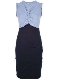 CARVEN Knotted T-Shirt Dress