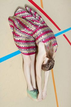 Carven | Summer 2012. Photo by Viviane Sassen.