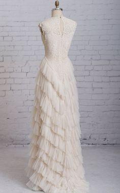 Steampunk wedding dress Victorian wedding by MartinMcCreaCouture $1,500.00