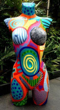 Body's Mannequin Art, Vintage Mannequin, Pottery Sculpture, Sculpture Art, Pinstriping, Human Art, Art Object, Mosaic Art, Bead Art