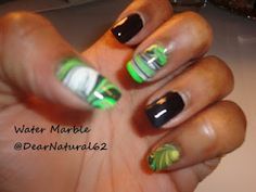 @Dearnatural62 has been kind of enough to share  #DIY  # 20 HowTo: Perfect Water Marble Nail Art Tutorial - 5 Designs in One
