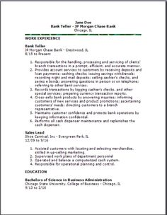 Cover Letter Bank Teller Cover Letter Job And Resume Template No Resume  Template