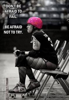 I came, I tried, I fell, I tried again. Ever psi, is worth the fun Hoff the Chain - South Central Roller Girls Roller Derby Skates, Roller Derby Girls, Roller Skating, Skating Rink, City Roller, Inline Skating, Fitness Motivation, Wonder Woman, Workout