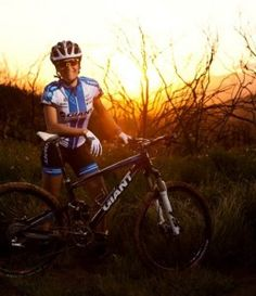 Kelli Emmett is a professional cross country racer for the Giant Factory Off-Road Team.