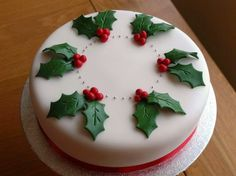 Resultado de imagen de carrot cake decoration ideas for christmas time