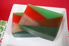 Holiday Wreath Soap   Handmade Glycerin Soap  by asliceofdelight, $6.00