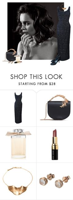 """""""Unbenannt #654"""" by fufuun ❤ liked on Polyvore featuring RALPH & RUSSO, Chloé, Bobbi Brown Cosmetics, Cornelia Webb, London Road and n.d.c."""