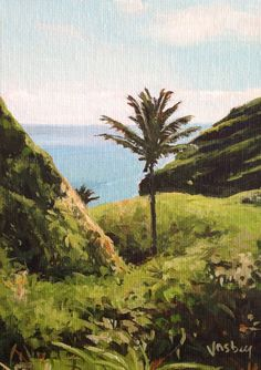 Kipahulu on the road to Hana Maui by StacyVosbergFineArt on Etsy