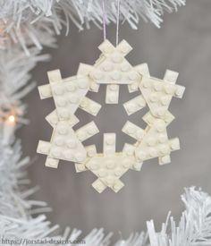 Buy kits, instructions, or commission custom models - Jorstad Designs sells it all! Lego Christmas Ornaments, Christmas Lights, Christmas Holidays, Lego Models, Custom Lego, Snowflakes, Chandelier, Ceiling Lights, Design