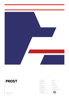 World Champions series - Prost by Adrian Newell
