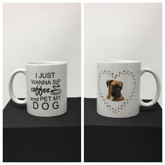 Boxer, Dog Mug, Dog Breed Mug, I love my Boxer, Pet loss gift, Dog lover gift, Dog coffee cup, Boxer Cup, Funny Dog Coffee Mug by CreativeCraftRooms on Etsy https://www.etsy.com/listing/532717355/boxer-dog-mug-dog-breed-mug-i-love-my