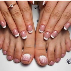 Manicure E Pedicure, Mani Pedi, Cute Pedicures, Celebrity Nails, Happy Nails, Beautiful Toes, Toe Nail Designs, Wedding Nails, Toe Nails