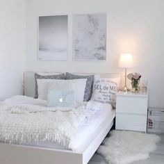19 chic bedroom decorating ideas for teen girls 6 - nimivo sites Cute Bedroom Ideas, Teen Bedroom Designs, Room Ideas Bedroom, Small Room Bedroom, Home Bedroom, Girls Bedroom, Bedroom Furniture, Master Bedroom, Small Teen Bedrooms
