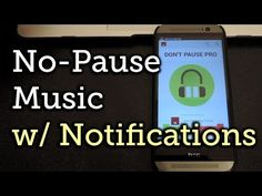 Android: You're grooving to music on your device and suddenly there's a quick pause--every time you get an email, text message, or other notifications. Don't Pause! prevents these annoying interruptions.
