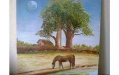 mi cuadros pintados al oleo sobre lienzo