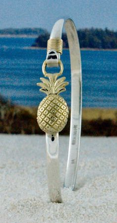 Pineapple Small Charm Bangle. I'm kind of obsessed.