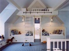 habitaciones con amplios techos