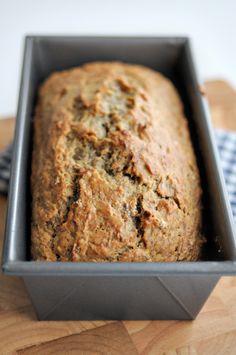 No Sugar Added Banana Bread || HeathersDish.com